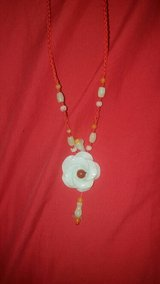 Jade Rose Necklace in Lackland AFB, Texas
