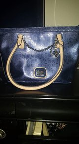 Navy blue Guess bag in Lackland AFB, Texas