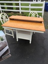Kitchen table with leaf and 4 chairs (2 in box) in Lumberton, North Carolina