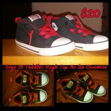 High Top No Tie Converse Size 10 in Fort Drum, New York