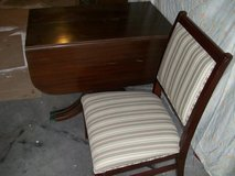 12 chairs and table for sale in Barstow, California