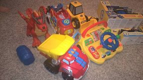 Fisher Price Imaginext Little Tikes Lakeshore Chuck Truck Toy Bundle in Joliet, Illinois