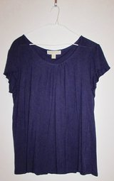 #70 Size M Michael Kors Purple Top in Ramstein, Germany