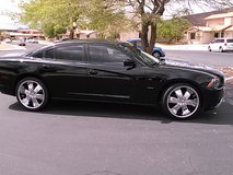 22in Dodge Charger Velocity Rims with New Tires in Barstow, California