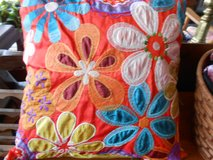 Flowered Pillow in Cherry Point, North Carolina