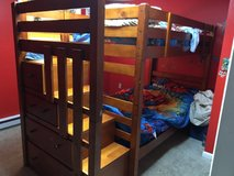 twin bunk bed in Fort Drum, New York