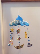 Kids Room Deco - Mobile Ocean Dolphin Motif in Elgin, Illinois