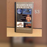 Readers digest book of facts in Fort Riley, Kansas