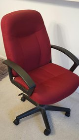 Red Office Chair in Naperville, Illinois
