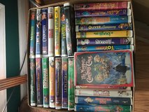 Disney Movies-VHS in Clarksville, Tennessee