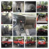 4 Door Red 1994 Toyota 4Runner Sport Utility  Mid-Sized SUV in Fort Benning, Georgia