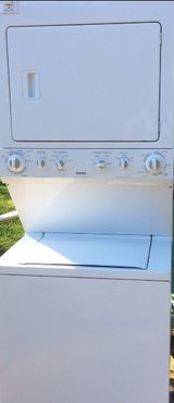 Stackable washer and dryer in Leesville, Louisiana