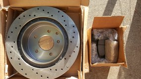 Front and Rear Rotors and Brake Pads in Travis AFB, California