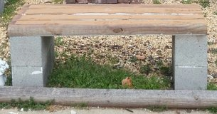 Wood and Block Benches in Fort Campbell, Kentucky