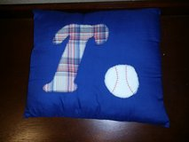 Kids sports themed pillow in Travis AFB, California