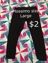 Mossimo size large pants in Houston, Texas