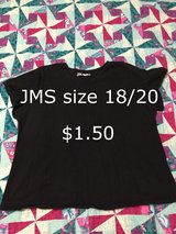 JMS plus size 18/20 shirt in Houston, Texas