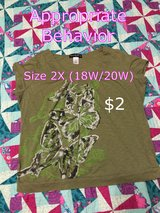 Us size 2X (18/20) shirt in Houston, Texas