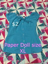 Paper Doll size XL shirt in Houston, Texas
