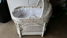 Wicker baby bed in Naperville, Illinois