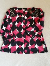 Vibrant beaded top shirt by Cocomo Size XL in Joliet, Illinois