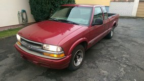 Reduceed! Chevy S10 Reliable Pickup Truck in Hohenfels, Germany