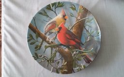 The Cardinal Decorative Plate in Conroe, Texas