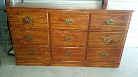 Dresser with 9 drawers in Fort Bliss, Texas