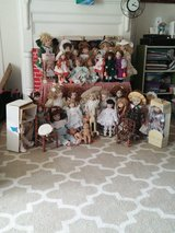36 vintage porcelain dolls REDUCED $180 - $5 each in Camp Lejeune, North Carolina