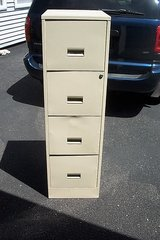 FOUR DRAWER FILE CABINET in Naperville, Illinois