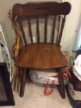 Small Antique Wooden Chair in Conroe, Texas