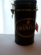 Large Ceramic Twinings Tea Canister in Naperville, Illinois