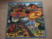 Disney Cars toy car rug in Oswego, Illinois