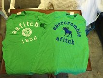 Boys Abercrombie & Fitch shirts in Beaufort, South Carolina