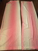 Pink Ombré Curtain Panels [4] in Beaufort, South Carolina