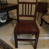 El Paso Import Company (The Village in Houston)  Chairs hardwood - Four (4) in Kingwood, Texas