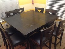 Large counter height kitchen table in Kingwood, Texas