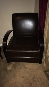 Leather accent chair in Naperville, Illinois