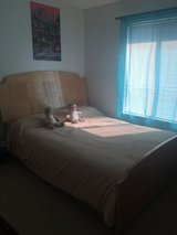 Queen bed frame in Naperville, Illinois