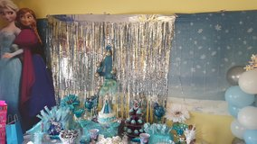 Frozen birthday party decorations!! in Camp Lejeune, North Carolina