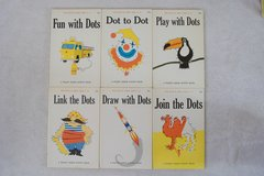 "1960's Follett Jr. ""DOTS"" Books (unused) in 29 Palms, California"