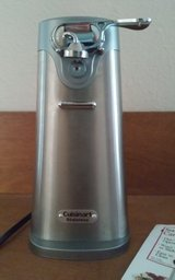 Cuisinart Stainless Steel Electric Can Opener in Houston, Texas