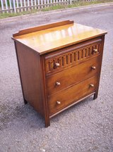 Quality Small Oak 50's Chest Of Drawers in Lakenheath, UK