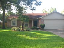 Kingwood -- 3 bedroom, 3 bath, 2 car garage available for rent in Elm Grove subdivision in Houston, Texas