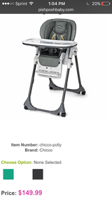 Chicco High chair in Houston, Texas