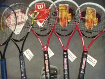 "4--Brand New--""WILSON TITANIUM IMPACT""  TENNIS RACKETS in Fairfield, California"