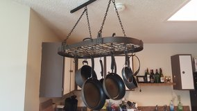 Hanging Pot Rack in Fort Sam Houston, Texas