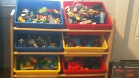 Toy storage in Brockton, Massachusetts