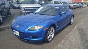 2006 Mazda RX-8 auto, leather-loaded only 72k for miles in Fort Lewis, Washington