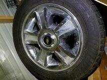 Chevy 6 lug rims and tires in Fort Polk, Louisiana
